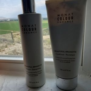 Monat brilliant brunette shampoo and conditioner